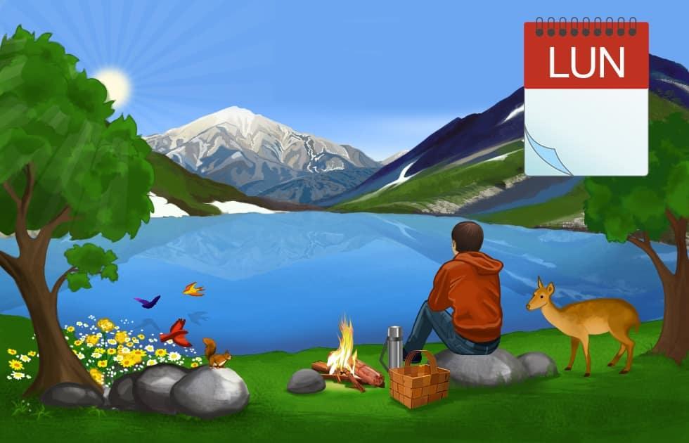 Einfach Spanisch lernen: Lunes - Montag_II